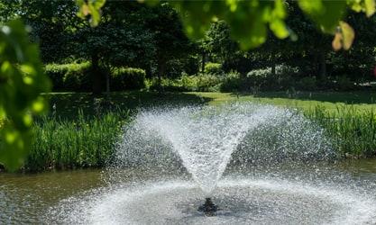 Holywell Park Fountain